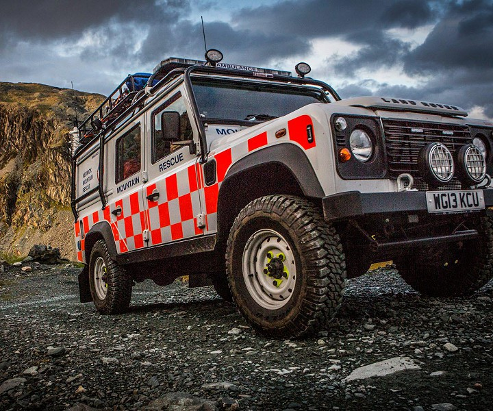 Keswick Mountain Rescue Team Vehicle.